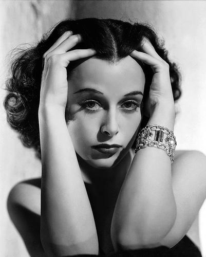 Hedy Lamarr (1914-2000). In Oostenrijk geboren Amerikaanse actrice van joodse afkomst